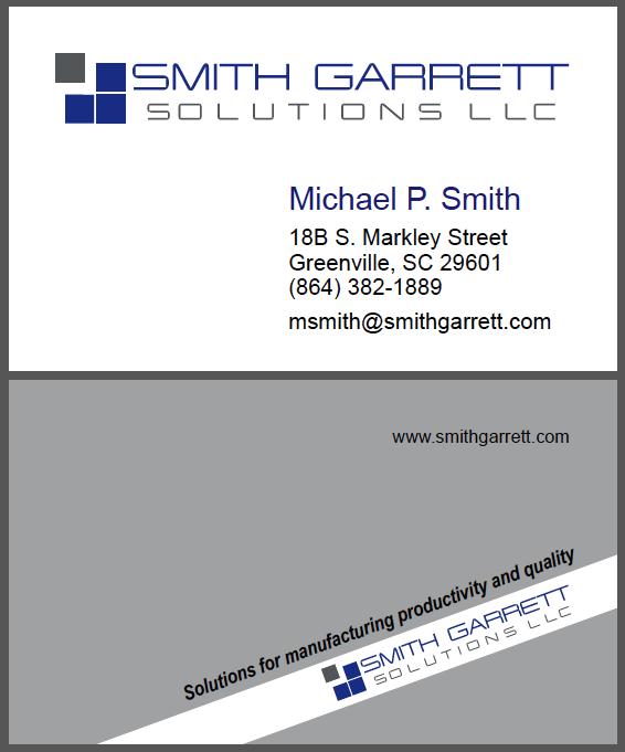 Smith Garrett Business Card
