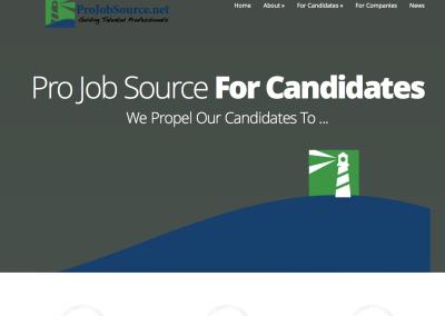ProJobSource website
